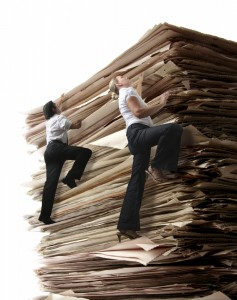 Climbing a pile of Files